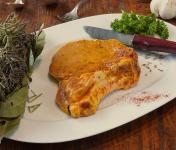 La Ferme du Chaudron - Côtes de Porc BIO Marinées - 750 g