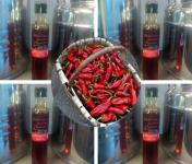 BIPER XOKOA - Huile d'Olive Bio au Piment d'Espelette Bio - 4 Bouteilles de 25cl