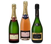 Champagne Stéphane Fir - Champagne Prestige - Rosée De Saignée - Brut - 3 X 75 Cl