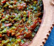 Graines Précieuses - Piments Braisés Aux Tomates Confites À L'huile D'olive