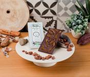 Le Petit Atelier - Tablette Chocolat Noir Bio Aux Écorces D'orange Confite