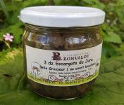 L'escargotière BONVALOT - 3 Douzaines d'Escargots du Jura Belle-Grosseur au Court-Bouillon