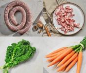BEAUGRAIN, les viandes bien élevées - Autour D'une Saucisse Au Chou - 1 Repas Pour 5 Personnes
