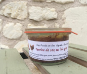 Des Poules et des Vignes à Bourgueil - Terrine De Coq Au Foie Gras