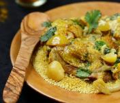 Graines Précieuses - Poulet Fermier Aux Citrons Confits, Olives Violettes Et Graine Parfumée