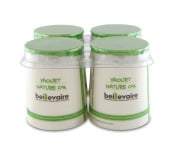 BEILLEVAIRE - Lot de 4 Yaourts Nature 0% MG