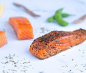 ÏOD - Pavés de saumon fumé ail des ours BIO 2x70g