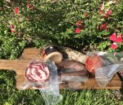 Marie et Nicolas REY - Domaine REY - Planche Apéro - Charcuterie de Porc Noir de Bigorre AOP