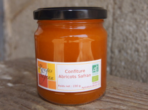 Rouges Safran - Confiture Abricot-safran