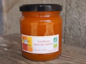 Rouges Safran - Confiture Abricot-safran