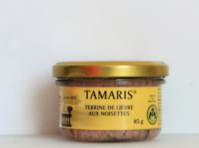 TAMARIS Artisan de Provence - Terrine De Lièvre Aux Noisettes
