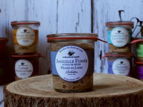 La Bourriche aux Appétits - Rillettes d'Anguille de Loire Fumée au Bois de Hêtre 100 g