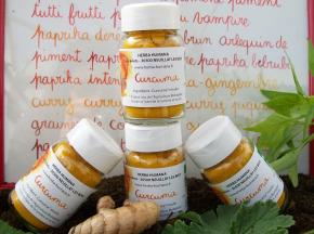 HERBA HUMANA - Curcuma Bio Cultivé En France (lot de 4x25g)