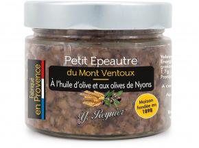 Conserves Guintrand - Petit Epeautre Du Mont Ventoux A L'huile D'olive Et Aux Olives De Nyons Yr 314 Ml