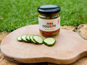Nos cousins Conserverie - Pickles De Concombres Croquants