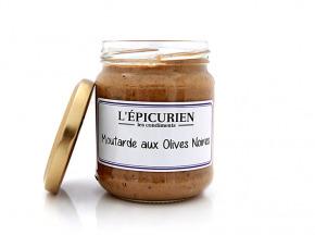 L'Epicurien - MOUTARDE AUX OLIVES NOIRES