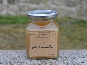 Un brun gourmand - Confiture De Poire À La Vanille