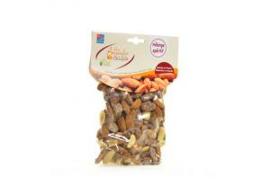 Les amandes et olives du Mont Bouquet - Mélange d'amandes pour l'apéritif 200 g (natures-salées-sucrées)