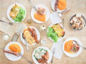 Le Jardin des Gallines - Panier Repas Batch Cooking 2 Personnes Viande et Légumes - Série Limitée N°3