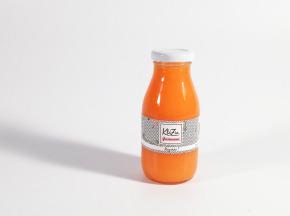 KléZia Pâtisserie - Jus Cru Rayonne - Fruits et légumes orangés - 25cl