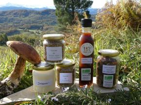 Terres En Vie - Cuisine Epicurienne : Châtaigne, Champignons, Saindoux et Caramel