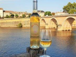 Les Douceurs de Lolla - Boisson À Base De Vin Aromatisée Aux Pétales De Rose Bio-lot De 3 Bouteilles