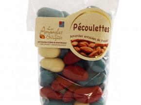 Les amandes et olives du Mont Bouquet - Pécoulette - Amandes Enrobées De Chocolat
