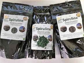 Spiruline de Beauce - Lot : 3 paquets Spiruline en paillettes séchées à froid