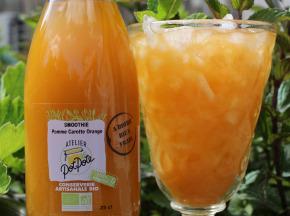 Atelier PotPote - Conserverie Artisanale Bio - Smoothie Pomme Carotte & Orange Bio