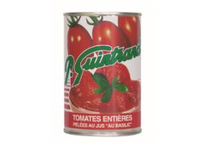 Conserves Guintrand - Tomates Entières De Provence Pelées Au Jus Basilic - Boite 1/2
