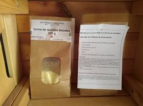 Les Délices du Scamandre - Farine de Lentilles Bio - 1kg