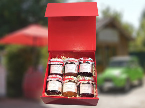 Les Perles Rouges - Coffret De 6 Confitures Classiques  6x250g