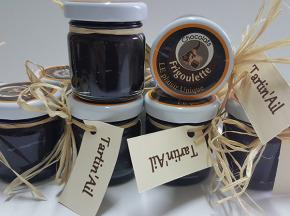 Maison Boutarin - Tartin'ail : une pâte à toaster au chocolat et à l'ail noir