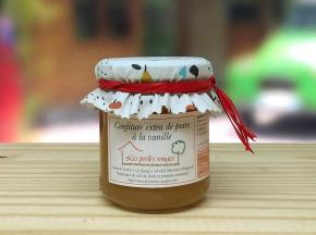 Les Perles Rouges - Confiture Extra De Poire À La Vanille Bourbon