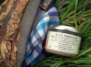 La Ferme de Bonneval - Pâté de porc normand bio 200g