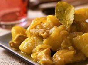 La ferme d'Enjacquet - Poulet Mariné Au Curry 1kg