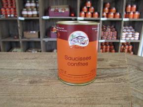 Ferme les Acacias - Saucisses Confites
