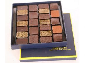 Maison Castelanne Chocolat - Coffret Dégustation Crus De Cacao 24 Chocolats