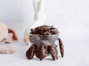 Maison Castelanne Chocolat - Friture Mixte Noir Et Lait 70g