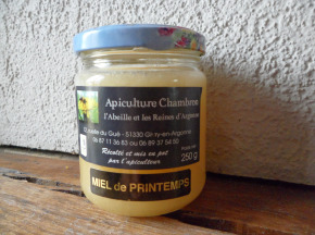 Apiculture Chambron L'Abeille et les reines d'Argonne - Miel D'argonne De Printemps 500g
