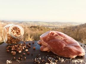 Du bio dans l'assiette - PRÉCOMMANDE - Gigot Tranché Agneau Fermier Bio 1kg