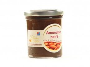 Les amandes et olives du Mont Bouquet - Amandise au chocolat noir et à l'amande 200g