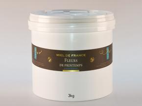 Domaine Apicole du Pillardon - Miel de France Fleurs de Printemps Récolte 2019 - 3 kg