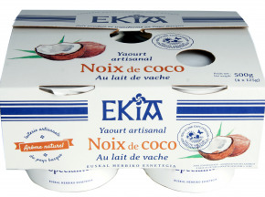 BASTIDARRA - 4 Yaourts Noix De Coco Etuvés