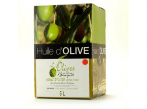 Les amandes et olives du Mont Bouquet - Huile d'olive Picholine 5 litres