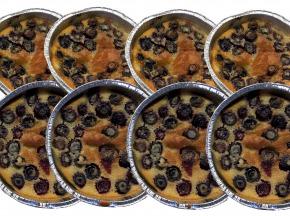 La Ferme des petits fruits - Parts Individuelles Clafoutis Aux Myrtilles