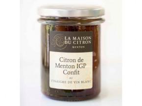 La Maison du Citron - Citron De Menton Igp Confit Au Vinaigre De Vin Blanc