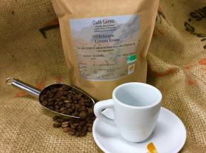 Café Loren - Café D'ethiopie - Limmu Kossa Bio : Mouture Espresso