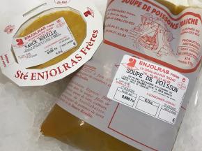 Côté Chic - Poisson frais de Méditerranée - Soupe De Poisson De Méditerranée Et Sauce Rouille