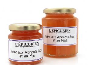 L'Epicurien - POIRE AUX ABRICOTS SECS ET AU MIEL